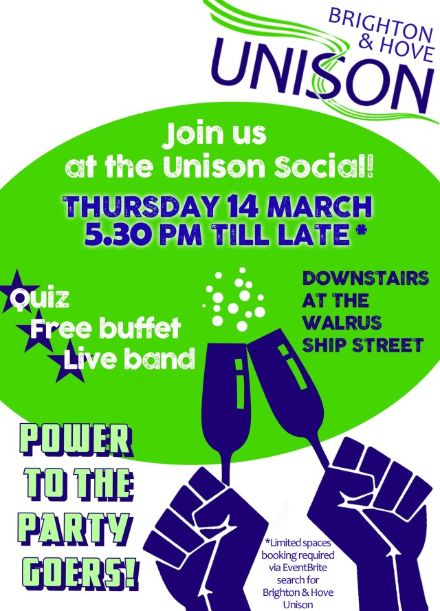 Unison Social flyer